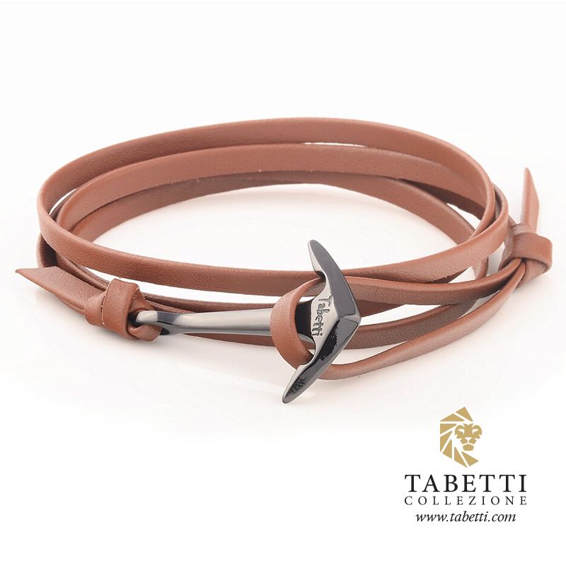 Carbon fiber anchor bracelet