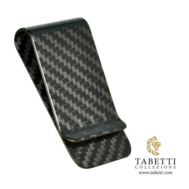 01804c0ffdf71 Black Carbon Fiber Money Clip – Tabetti Collezione
